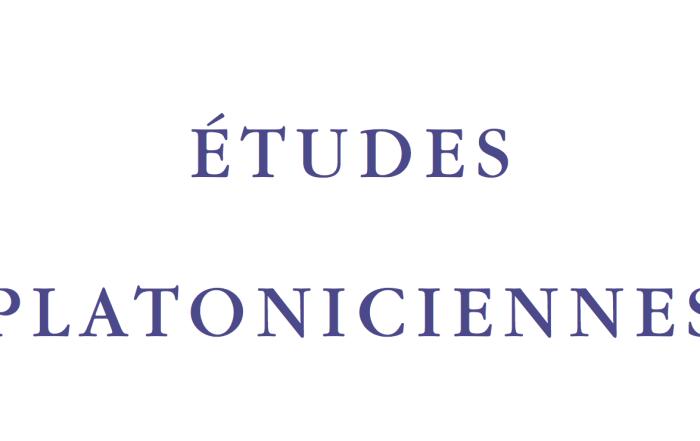 Etudes Platoniciennes X