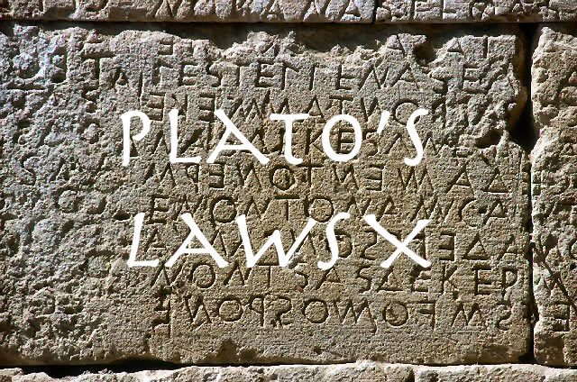 Call for papers : West Coast Plato Workshop on Laws X