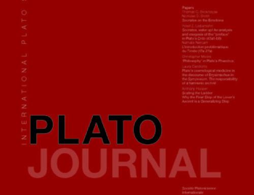 Plato Journal (15, 2016)