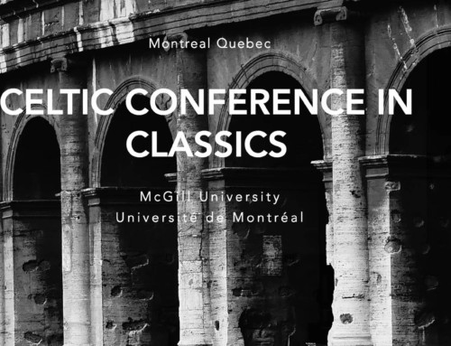 "CFP : Panel ""New approaches to Plato"" for the Celtic Conference in Classics"
