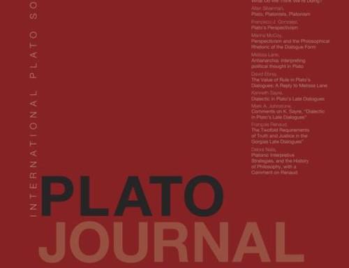 Just published : Plato Journal / Vol. 16